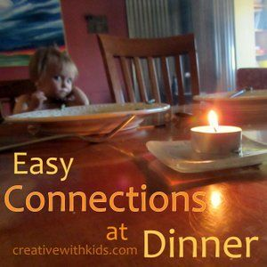 5 Easy Dinner Rituals to Build Family Connection, plus more ideas in the comments.  How do you add connection to meal time?