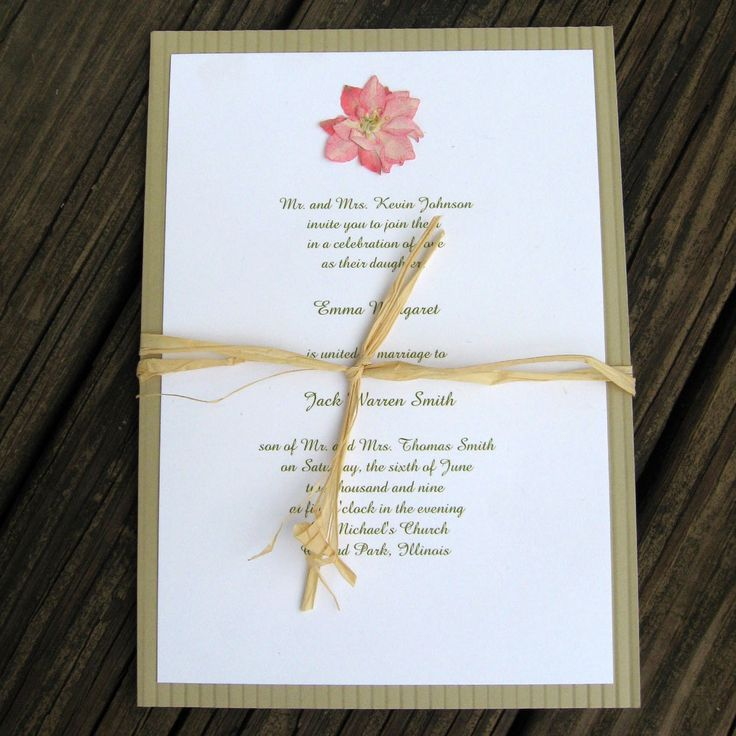 cheap0th wedding anniversary invitations%0A wedding invitation pressed flower  Google Search   paper and petals    Pinterest   Wedding stationary  Weddings and Wedding