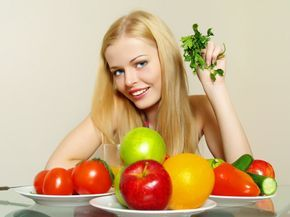 gesund ernähren haarwachstum anregen gesundes haar