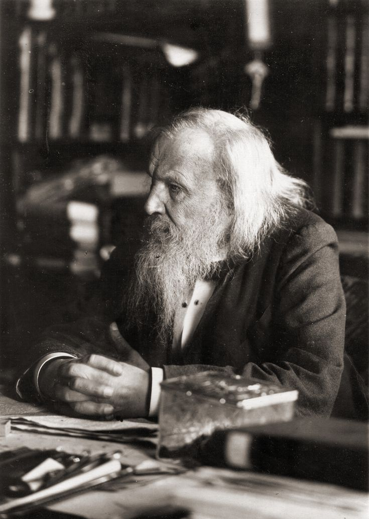 The Russian chemist Dmitrii Ivanovich Mendeleev (1834-1907) Mendeleev's original work covered a wide range, from questions in applied chemistry to the most general problems of chemical and physical theory. His name is best known for his work on the Periodic Law.