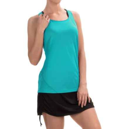 Columbia Sportswear Endless Freeze Omni-Freeze® Tank Top   PINK  Storm Blue  MED