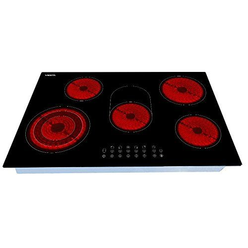 buy now   									£169.00 									 									The Viesta C5Z glass ceramic hob is a high quality, self-sufficient 5-zone hob! The glass ceramic hob has a sensitive sensor-touch display , which gives cooking  ...Read More