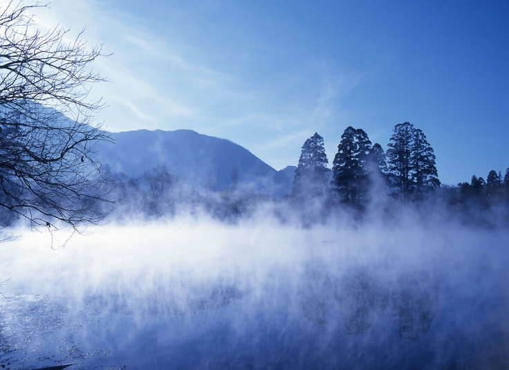 金鱗湖湯布院。