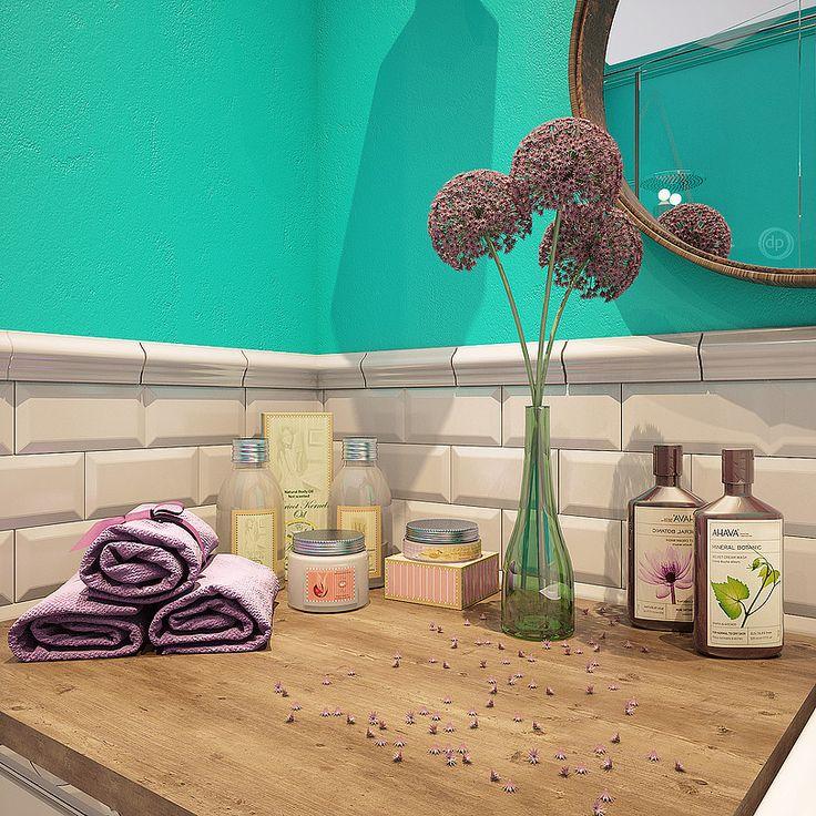Дизайн итерьера квартир в Москве | dp-Interior  #decor #ydea #bathroom #design #оформление