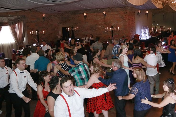 https://flic.kr/p/GmoQmi | FB(77) | Before the reception goodies started and before we were even introduced into the reception the I do crew got the WHOLE WEDDING to do the locomotion! best ice breaker ever!