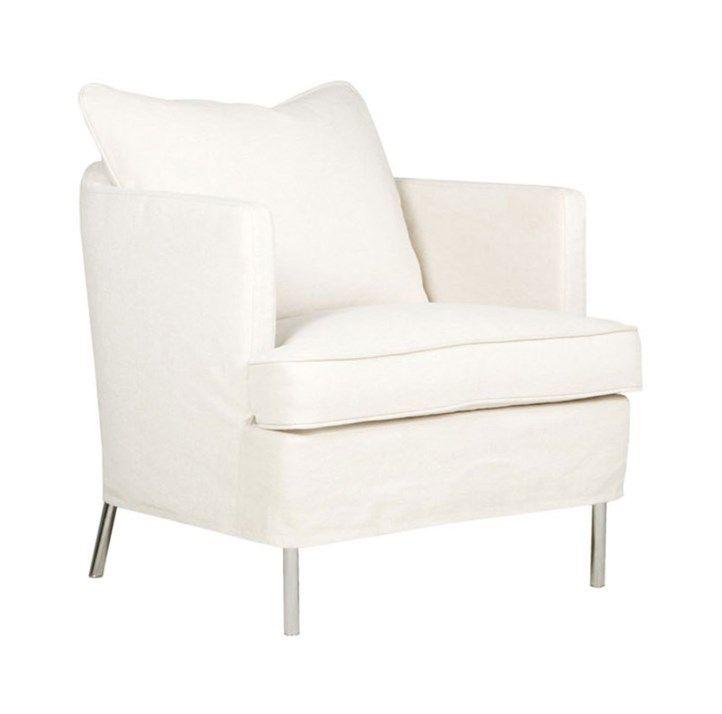 Julia Armchair - Caleido Natur/Chrome Legs | Sits | Vålamagasinet