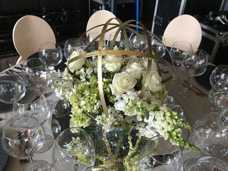 Modern Geometric wedding centerpiece