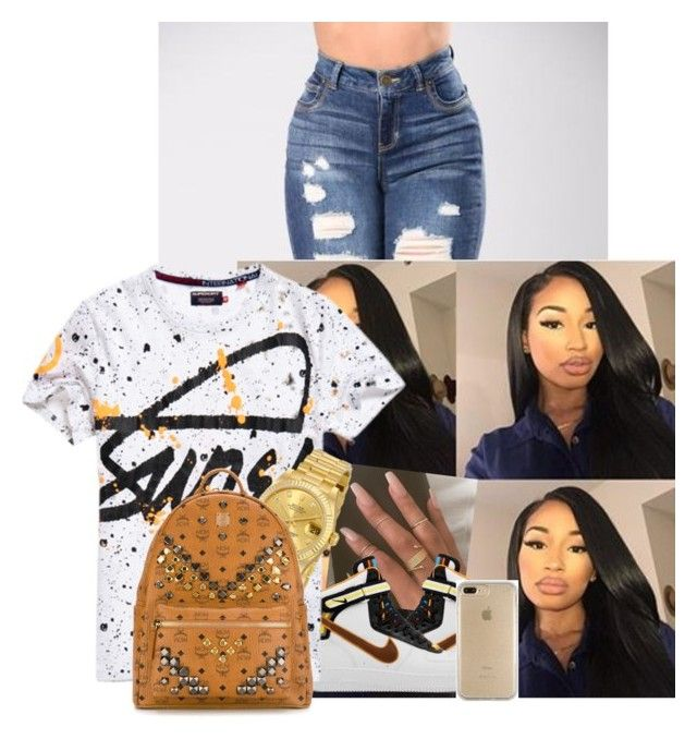 Super by badgirlbrie on Polyvore featuring polyvore, moda, style, MCM, Rolex, Speck, Superdry, fashion and clothing
