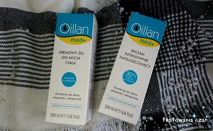 testowaniaczar: Oillan med+ w walce o zdrową skórę