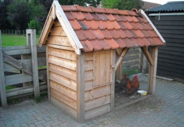 Kippenhok zelf maken bouwvergunning