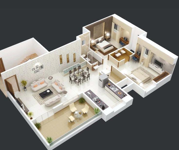 Ethanjaxson I Will Create Architecture Floor Plans 3d Floor Plan 2d Floor Plan For 5 On Fiverr Com 3d House Plans House Plans Bedroom House Plans