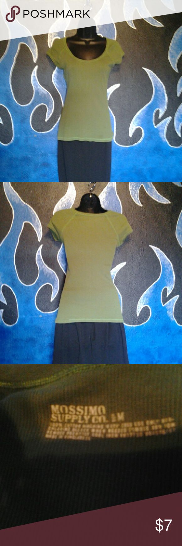 Mossimo supply co size medium Mossimo supply co size medium green shirt Mossimo Supply Co Tops Blouses