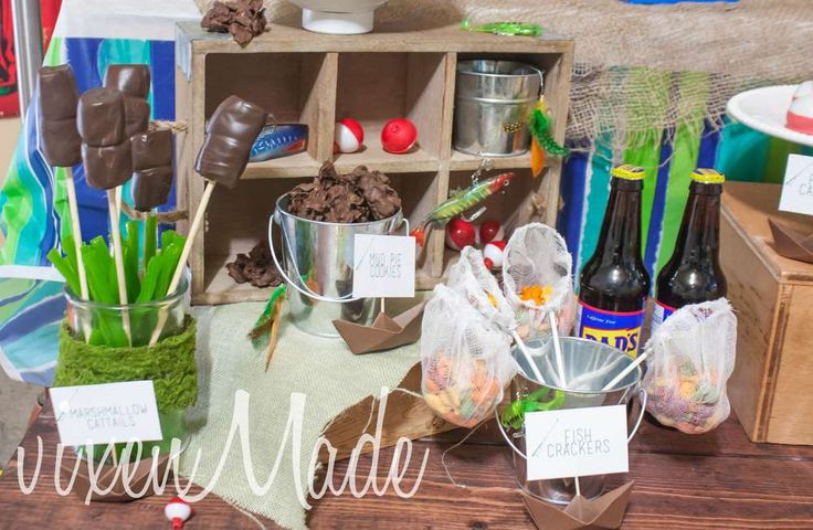 Fishing Birthday Party Ideas | Photo 6 of 14 | Catch My Party