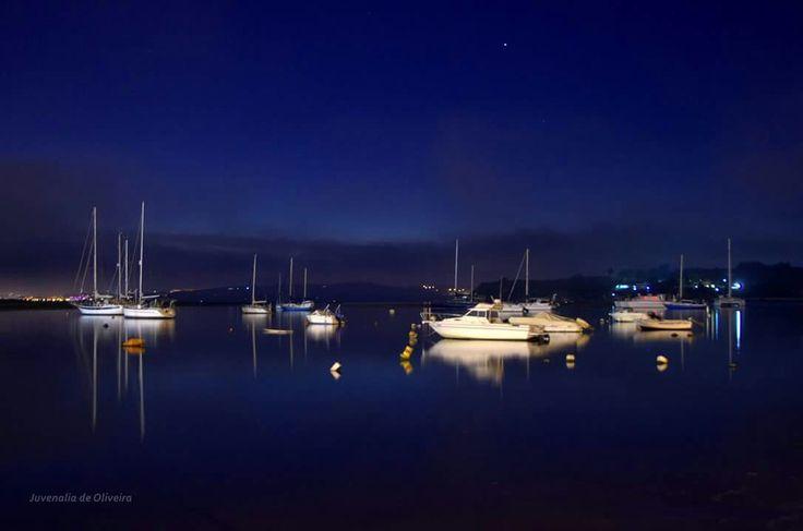 A beleza e a paz da baía de Alvor