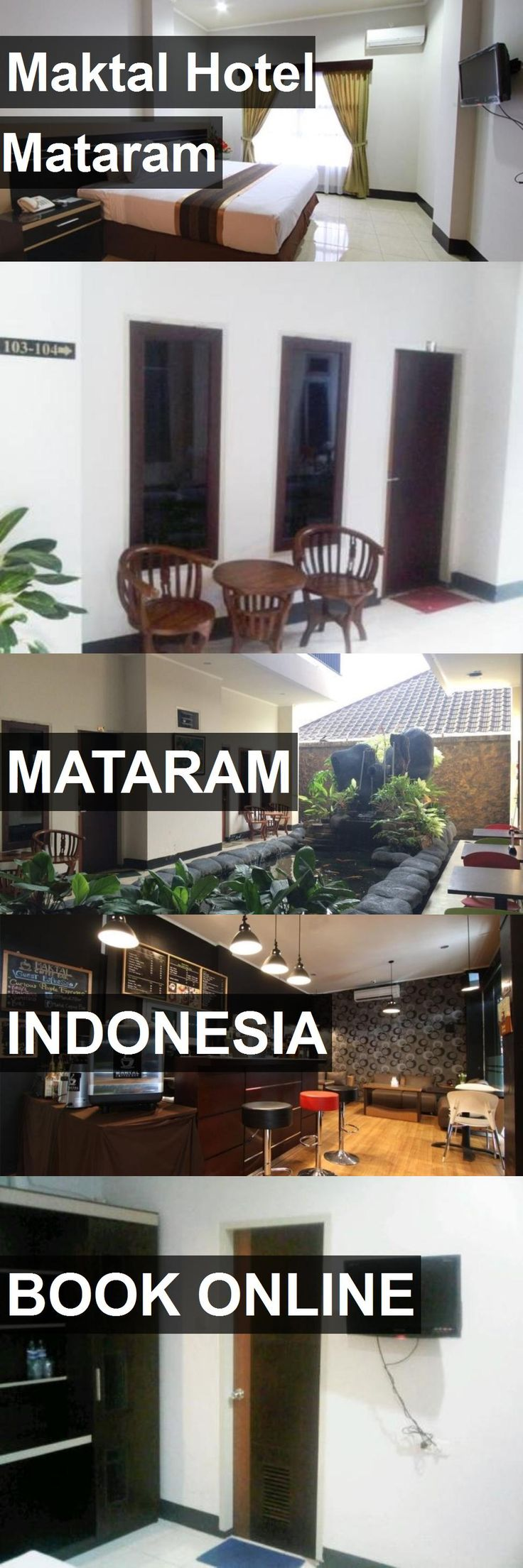 Maktal Hotel Mataram in Mataram, Indonesia. For more information, photos, reviews and best prices please follow the link. #Indonesia #Mataram #travel #vacation #hotel