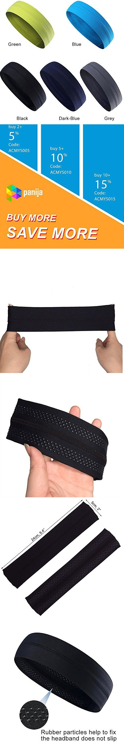Cooling Headband That Can Absorb Sweat And Which Has A Very High Elasticity, Very Useful for Fitness, Gym, Yoga, Great For Women And Men (black)