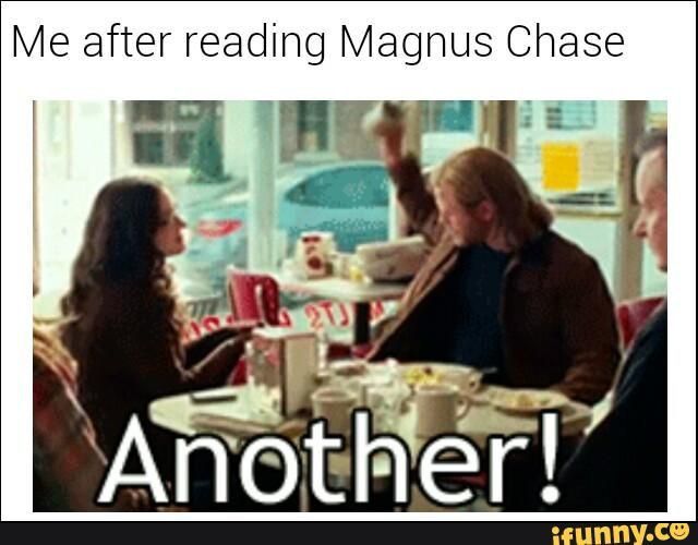 magnus chase hearth and blitzen middle earth - Google Search