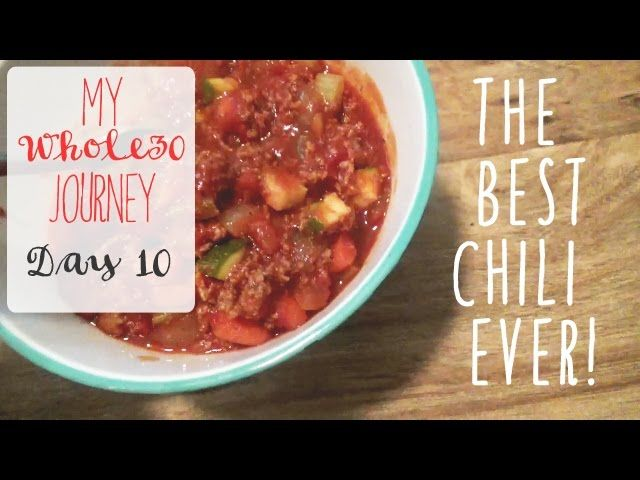 http://cooking-recipes-easy.com/healthy/whole-30/best-whole-30-chili-ever-my-whole-30-journey-day-11-vlog/ - BEST WHOLE 30 CHILI EVER!! // My Whole 30 Journey - DAY 11 Vlog http://cooking-recipes-easy.com/wp-content/uploads/2017/06/sddefault-105.jpg