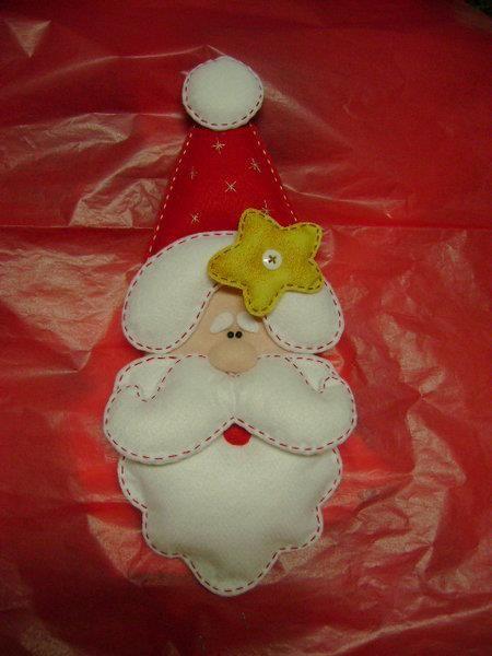 Papa Noel en fieltro