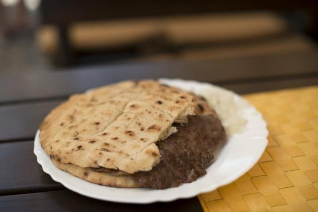 This recipe for Serbian lepinje is known as lepinje za cevapi because the bread is traditionally served with cevapcici sausages tucked inside.