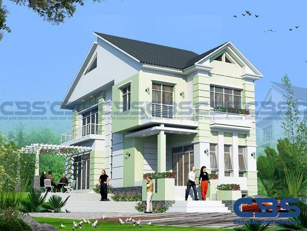 Công ty thiết kế và xây lắp Bảo Sơn chuyên thiết kế và thi công xây dựng nhà phố, biệt thự - biệt thự phố và nội thất.