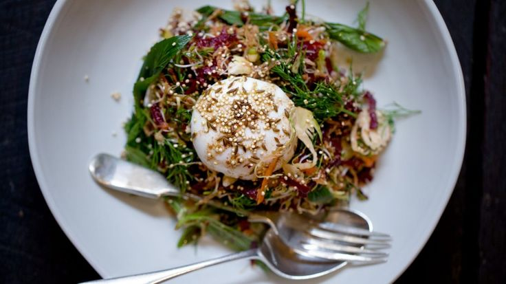 Breakfast make-over: Mike McEnearney's poached egg salad