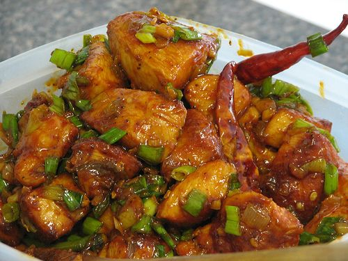 Chilly chicken is specially for those who want more chicken pieces less gravy and spicy, the dish can be served along with paratha or sheermal in hot condition. Description from dastarkhan.blogspot.com. I searched for this on bing.com/images
