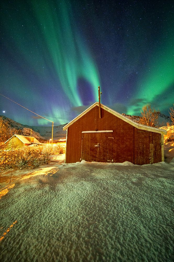 #Northern Lights in #Norway