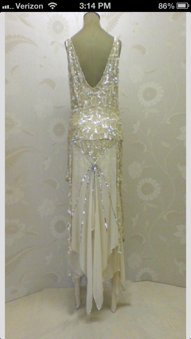 1920s inspired dress