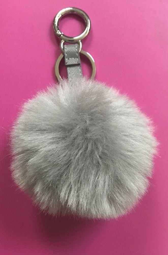 ca9b2793952 Faux Rabbit Fur Pom-pom Key Chain Bag Charm Fluffy Puff Ball Key Ring   fashion  clothing  shoes  accessories  womensaccessories   keychainsringsfinders (ebay ...