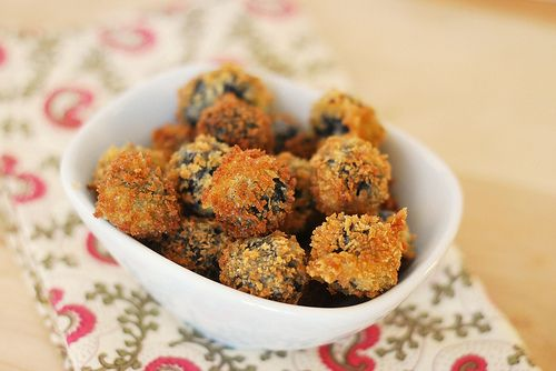 roquefort stuffed fried olives | ~SwEeT&SaLtY sNaCkS~ | Pinterest