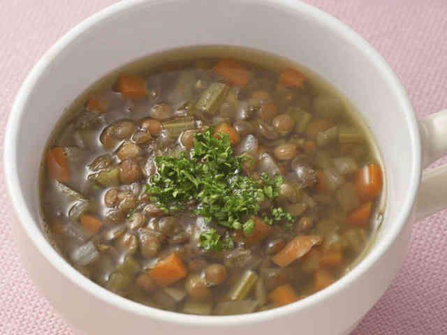 疲労回復や美肌に★レンズ豆のスープの画像