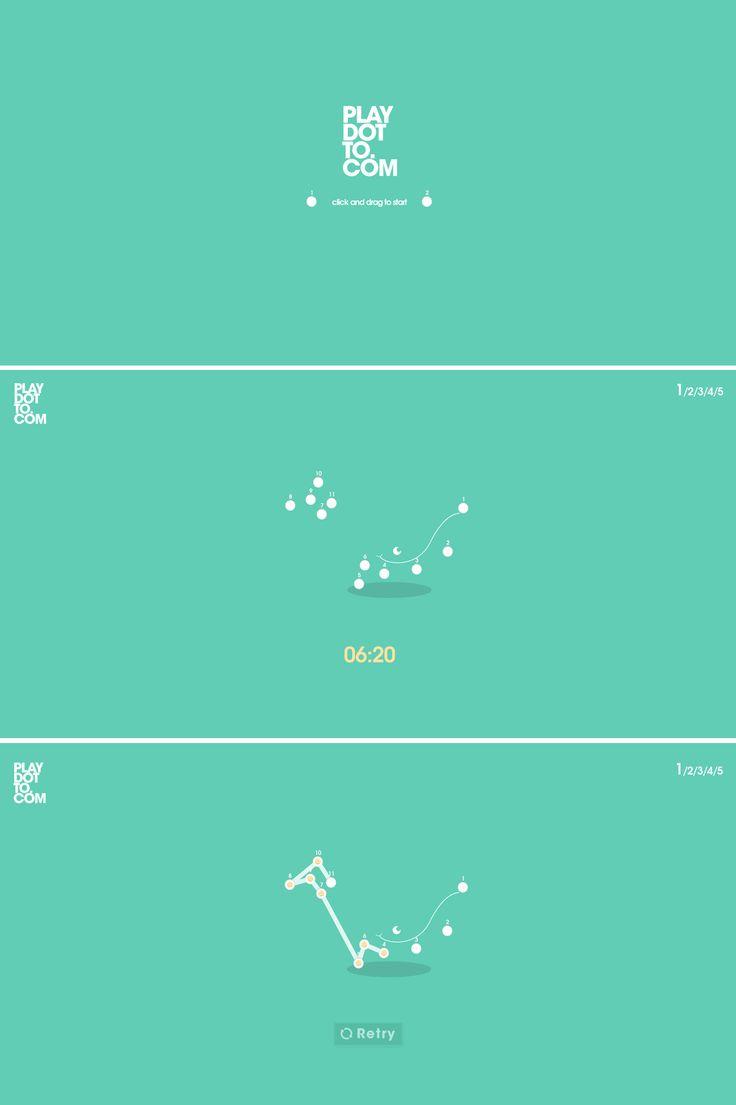 Play Dot To Dot, 16 September 2013. http://www.awwwards.com/web-design-awards/play-dot-to-dot   #GamesEntertainment #Minimal #Animation #HTML5 #Design