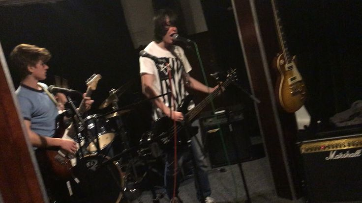 This is a picture i took (not the best quality) while i was in the studios with the band