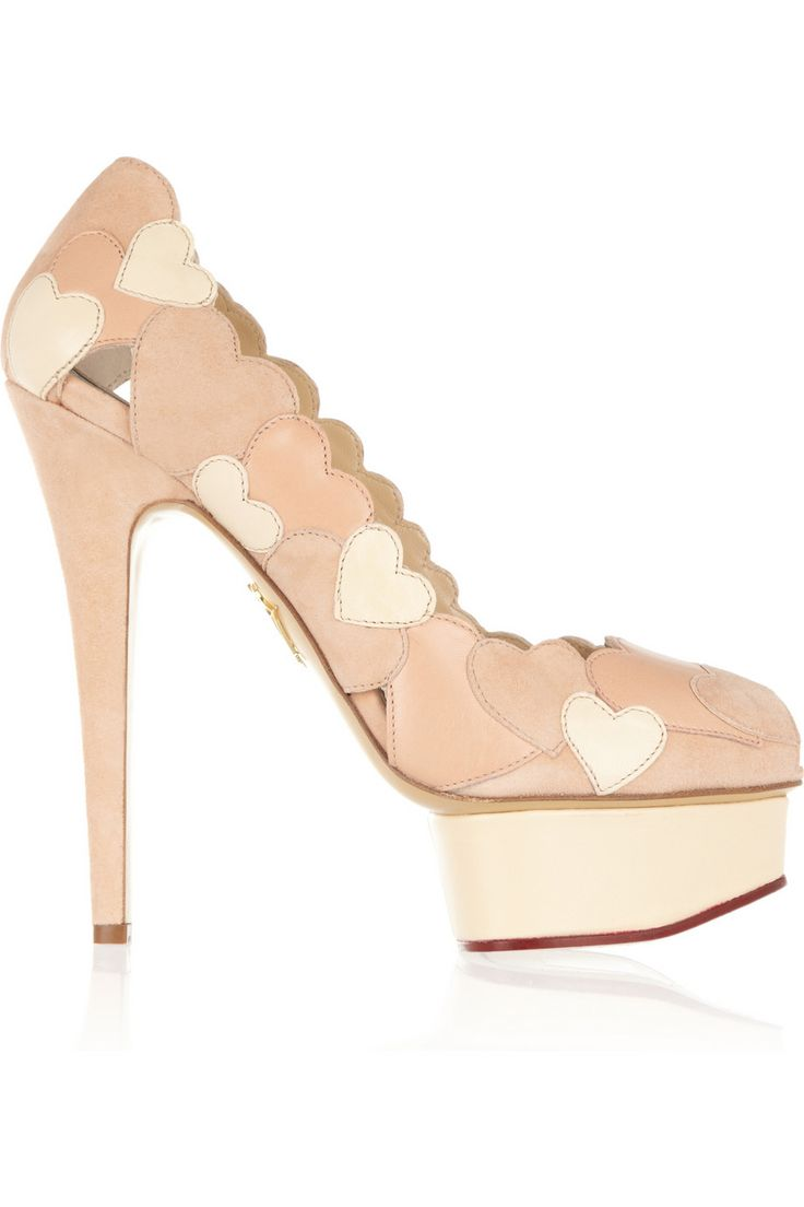 hot sale sale online free shipping in China Charlotte Olympia Platform Round-Toe Pumps mKDYnC5zJ