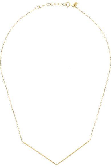 Maria Black Fine Jewelry | Brooks 18-karat gold necklace | NET-A-PORTER.COM