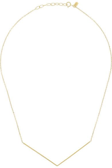 Maria Black Fine Jewelry | Brooks 18-karat gold necklace | NET-A-PORTER.COM