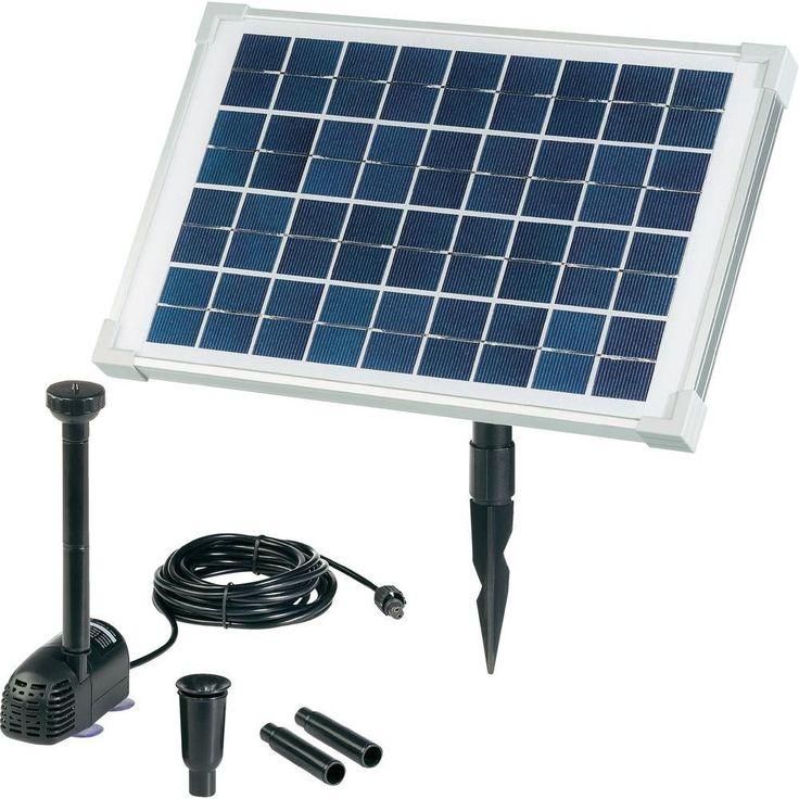 Solcellsdrivet pumpsystem 10 watt renkforce 10 W