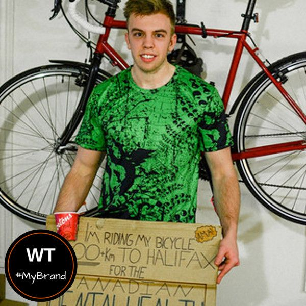 Ben Cowderoy started on a journey to raise money for the Canadian Mental Health Association. During the summer of 2015, he started in Guelph and biked all the way to Halifax, raising over $10,000 along the way.