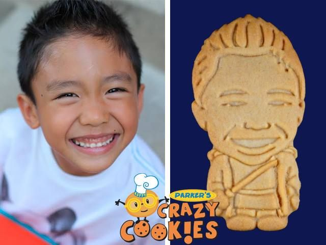 Make your child's birthday party unforgettable with custom cookies by Parker's Crazy Cookies. Friends and family won't stop talking about the amazing design and fabulous taste!!