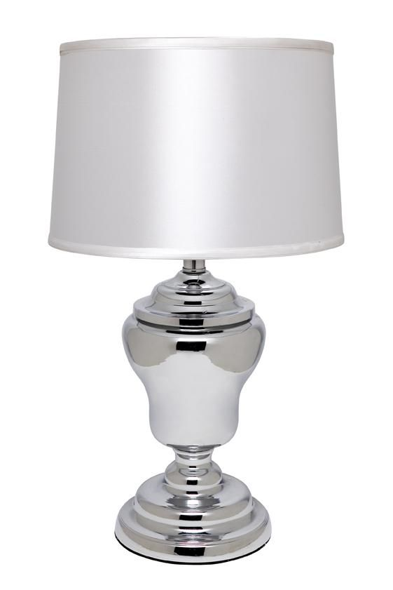 Mini Murdoch Lamp Base with Torin White Shade - Lighting : CAFE Lighting