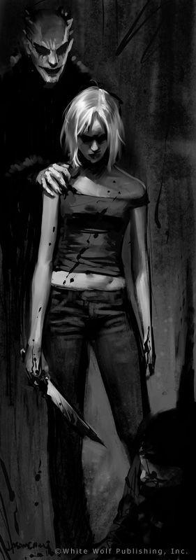Artwork for World of Darkness by Jason Chan. // JasonChanArt.com