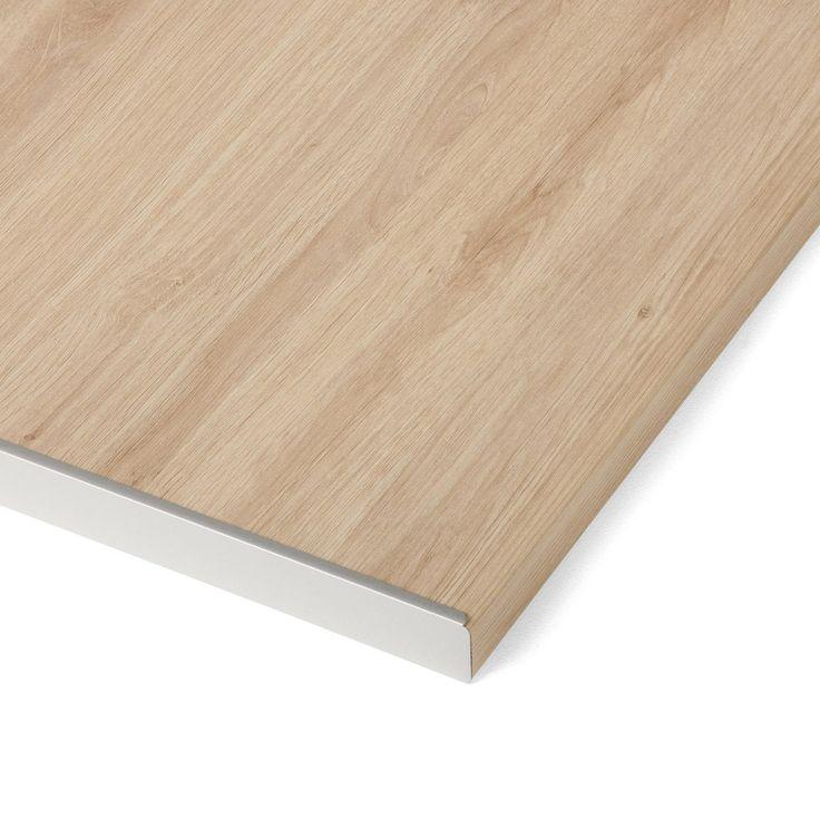 Table Retractable Stratifie Aluminium Mat L 95 X P 75 Cm Ep 140 Mm Plan De Travail Stratifie Plan De Travail Et Table Retractable