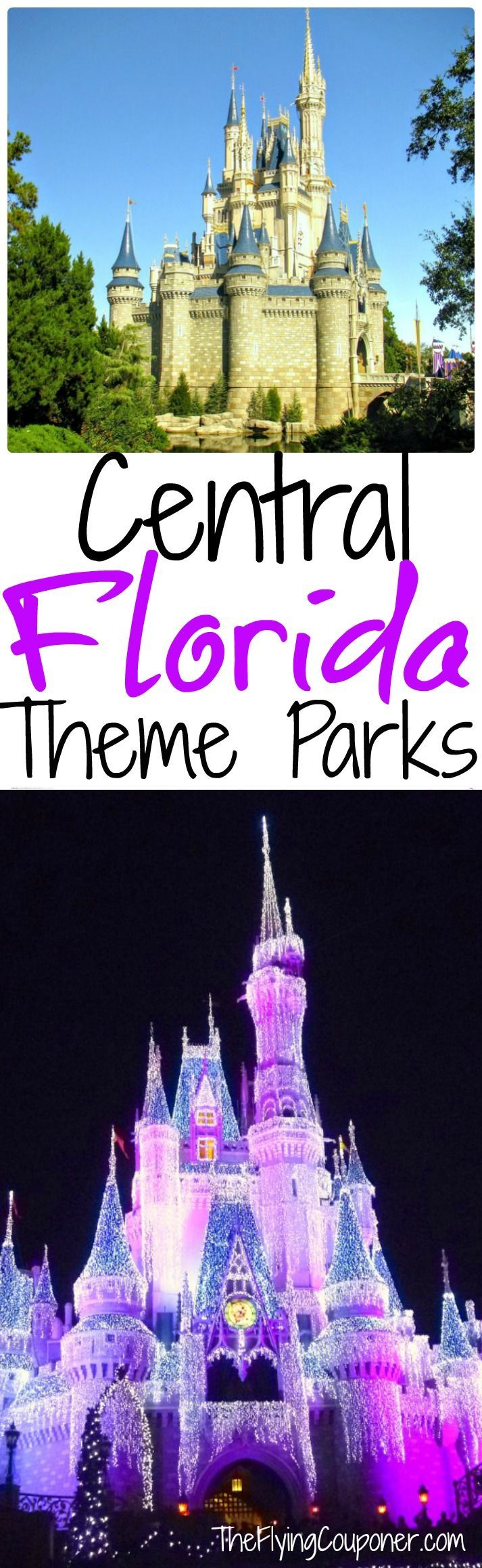 Central Florida Theme Parks. Things to do in Florida during your vacations. Legoland Orlando, Universal Studio Orlando, Bush Gardens Tampa, Disney World, I-Drive 360, Seaworld Florida. The Flying Couponer | Family. Travel. Saving Money.