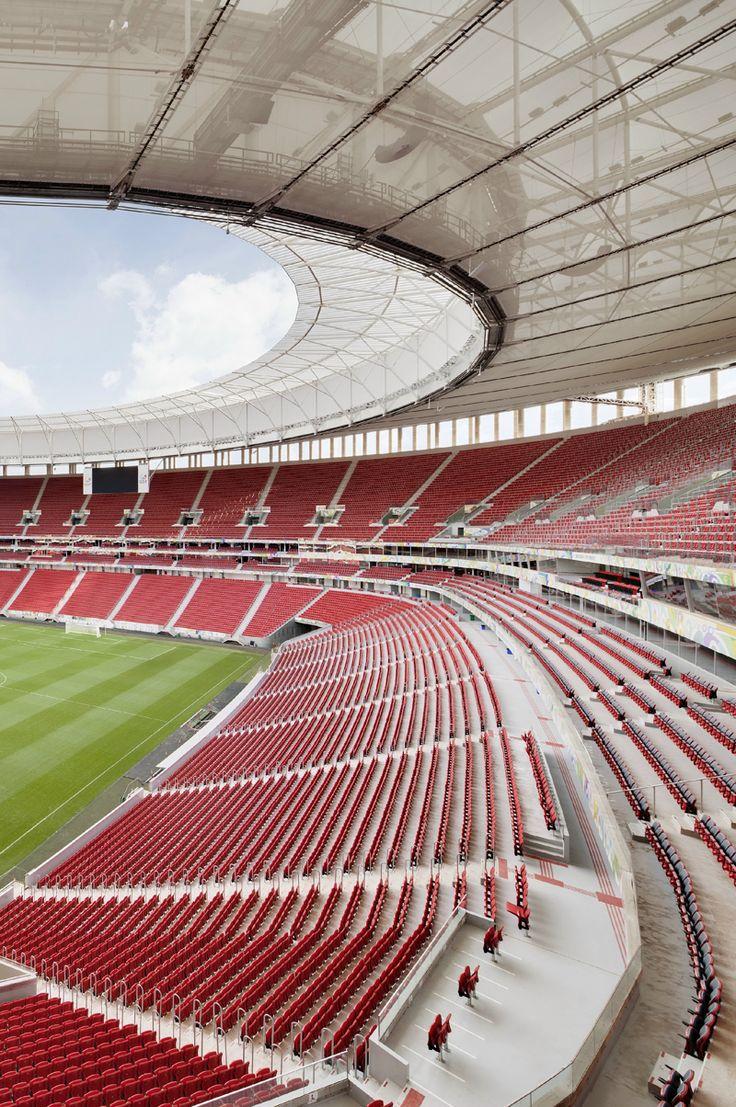Estádio Nacional Mané Garrincha | Brasilia, Brazil | 2013 | http://www.gmp-architekten.de