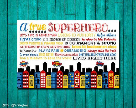 True or False? Superheroes