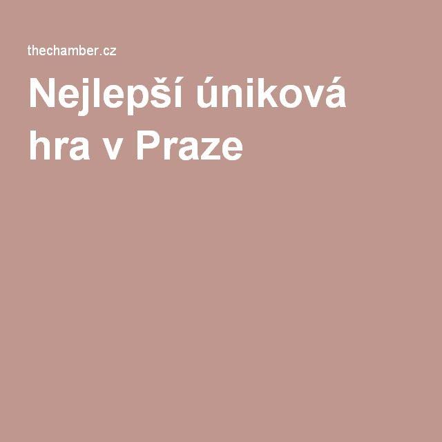 Nejlepší úniková hra v Praze