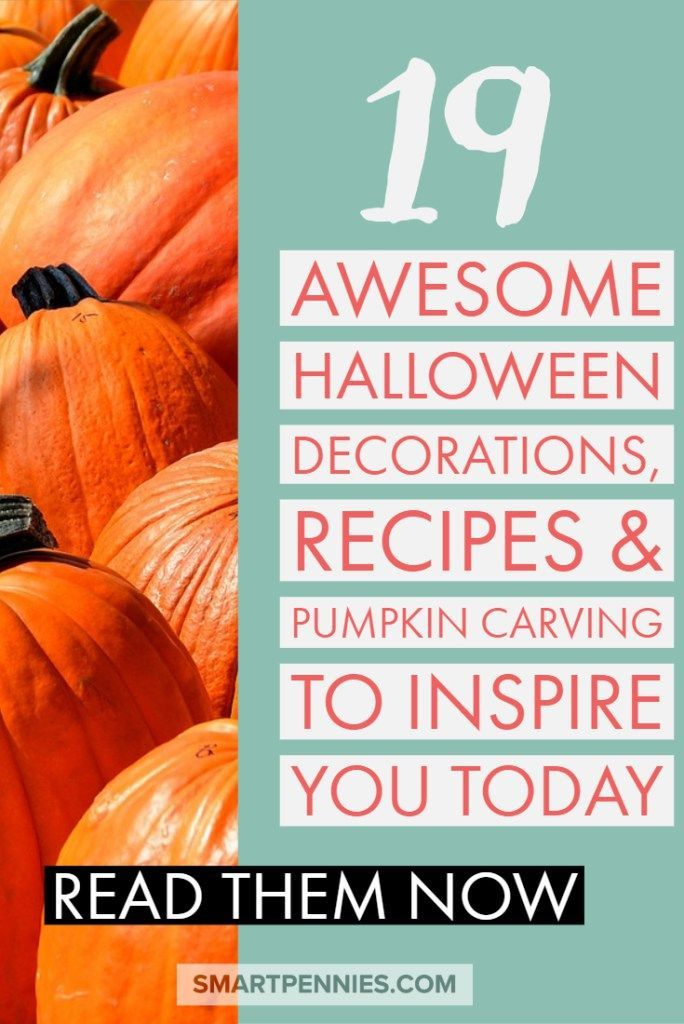 19 Awesome Halloween Decorations, Recipes  Pumpkin carving to - cute easy halloween decorations