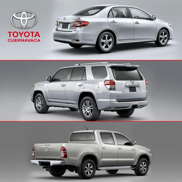 Basta de soñar, ven a Toyota Cuernavaca y cotiza el Toyota que más te guste. Te esperamos en Libramiento Autopista México Acapulco Km. 88.4, Enfrente de Liverpool Cuernavaca.
