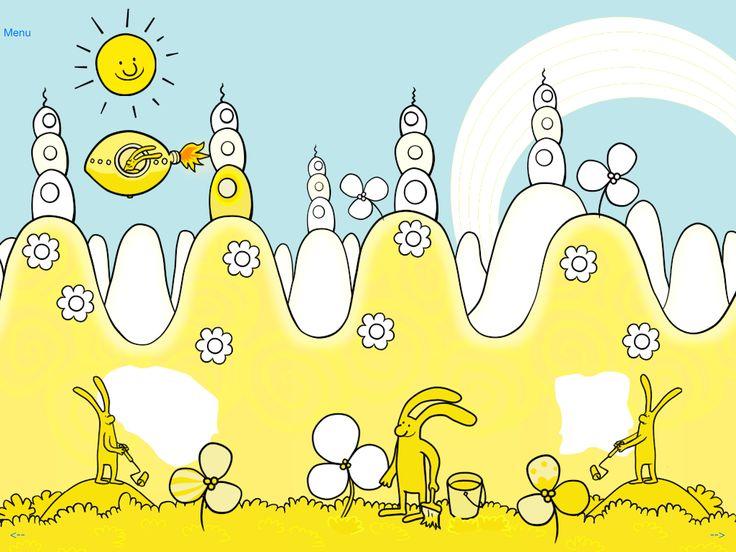 PimPim wants to paint it yellow! #yellowbigmoon #pimpim #onceuponatime